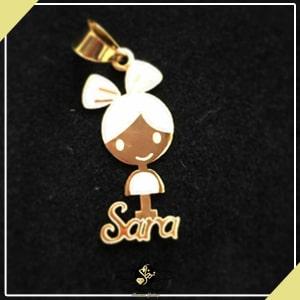 پلاک اسم لاتین سارا