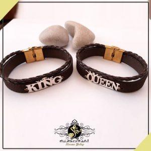 دستبند اسم کینگ و کویین