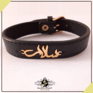 دستبند چرم اسم سالار